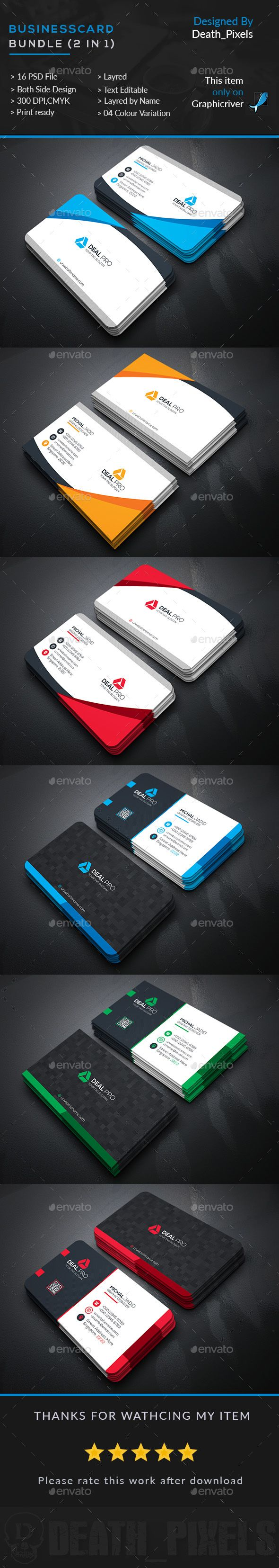 33 best Best Business card templates psd Collection images on ...