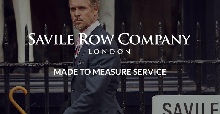 Made to Measure Suits | Savile Row Company | Savile Row Company