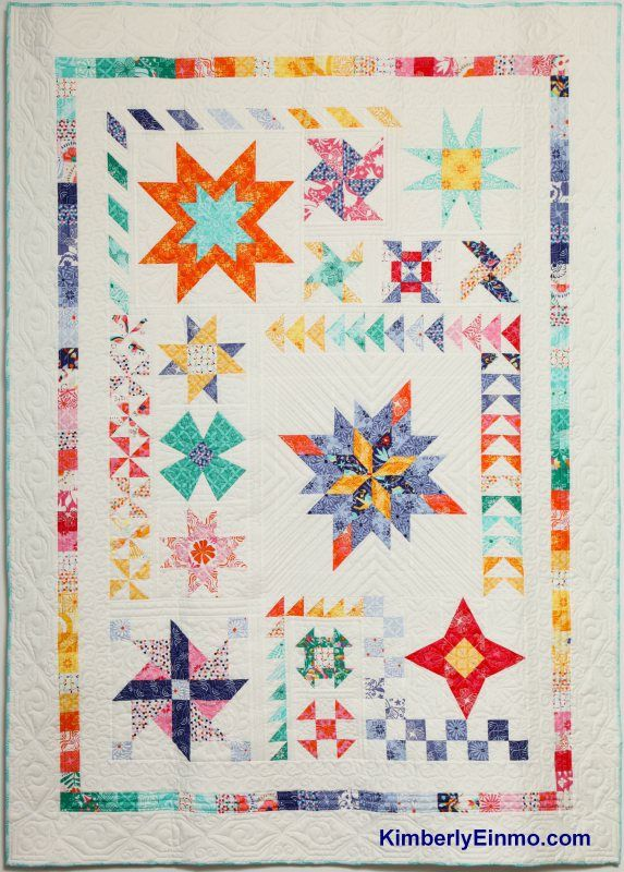 Sampler quilt by Kimberly Einmo