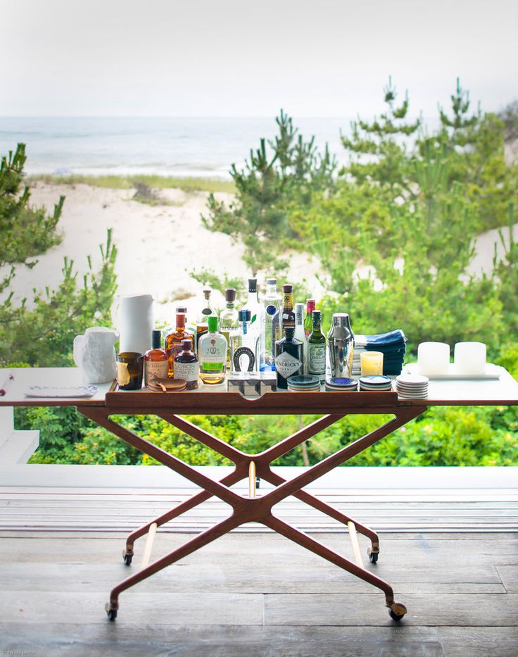 THIS! by the window behind the end of the table - light & mobile A Hamptons Beach House Where Everyone Is Welcome - Slide Show - NYTimes.com