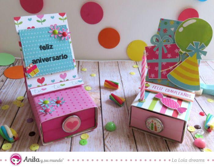 47 best tarjetas images on pinterest homemade cards - Como hacer tarjetas de cumpleanos ...