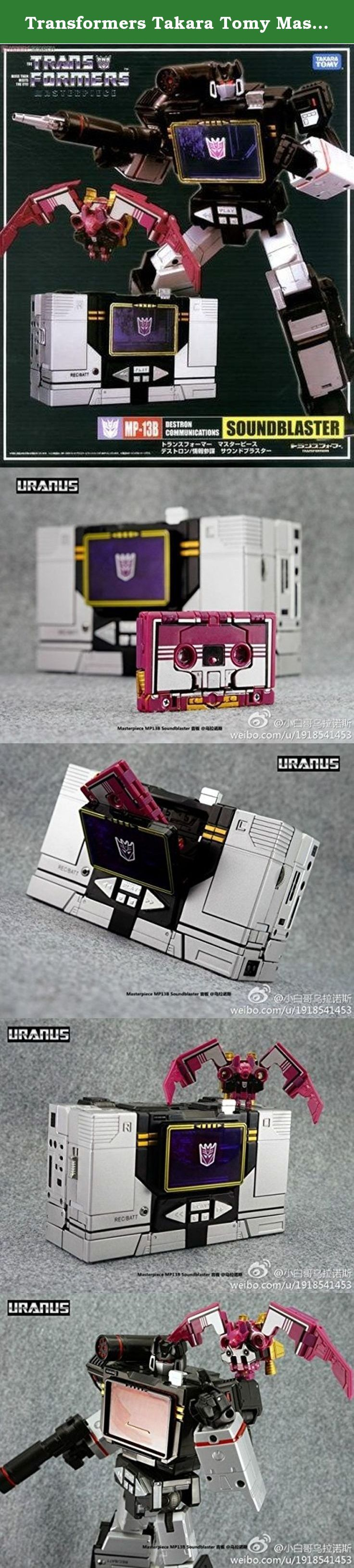 Transformers Takara Tomy Masterpiece Mp-13b Soundblaster & Ratbat. Transformers Takara Tomy Masterpiece Mp-13b Soundblaster & Ratbat.