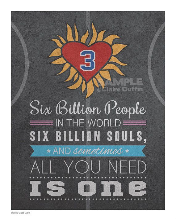 All You Need Is One One Tree Hill Quote Art by OperationPumpkin