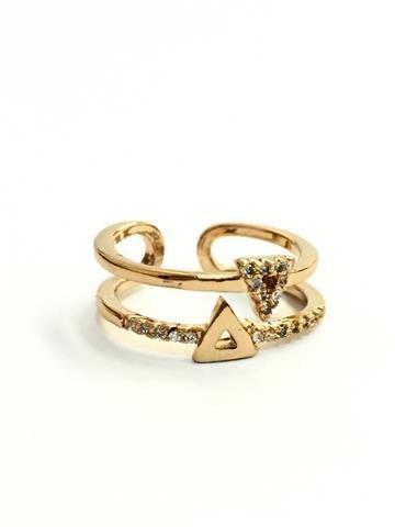 La Bella Donna - Γυναικειο δαχτυλιδι με τριγωνα