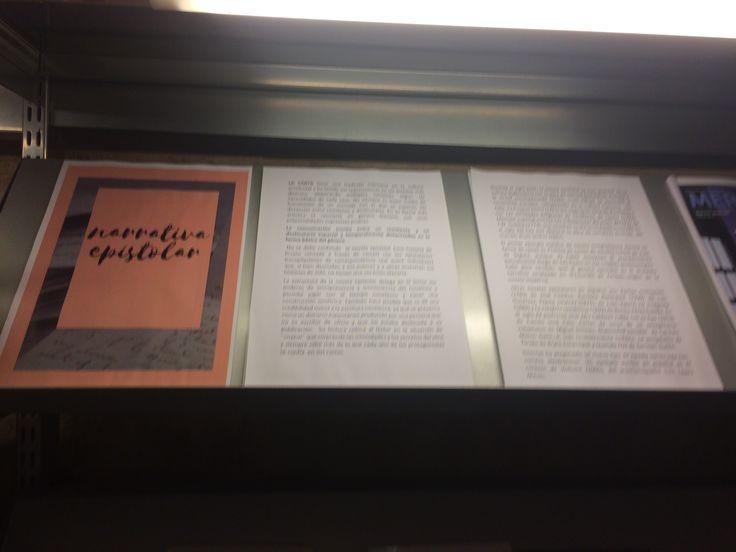 Dentro del Escaparate este mes de mayo os proponemos una selección de obras de género epistolar