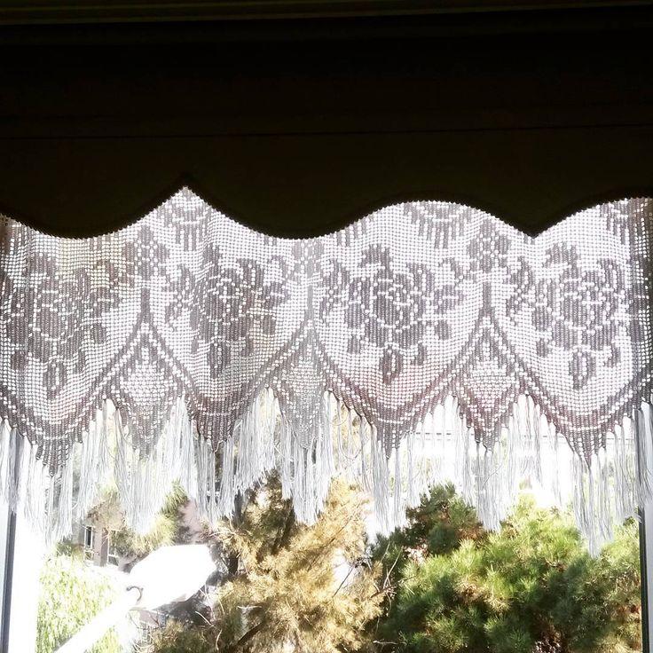 #boho #gypsy #bohemian #crochet #curtains #cortinas #bohemias #ganchillo