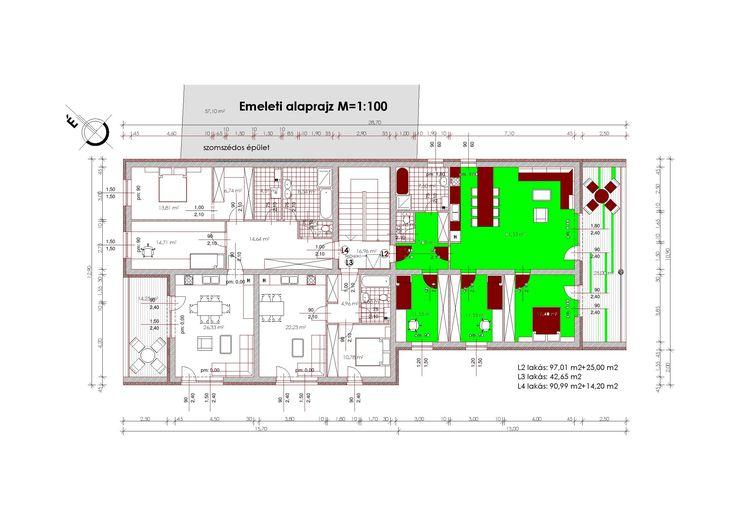 Új építésű lakások Révfaluban ! 17,2 m