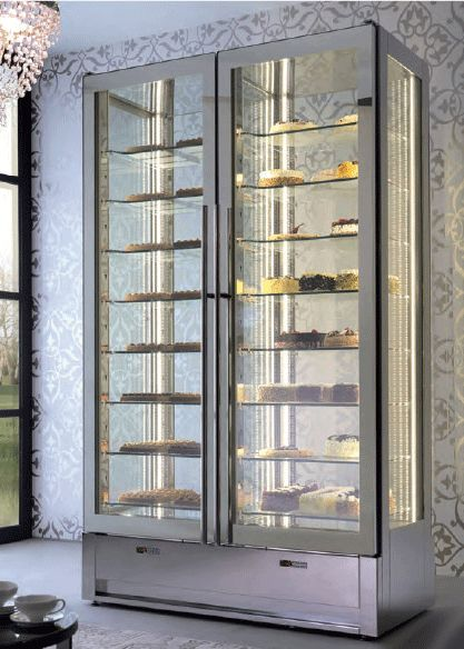Upright Refrigerated Pastry Cake Display Case Www