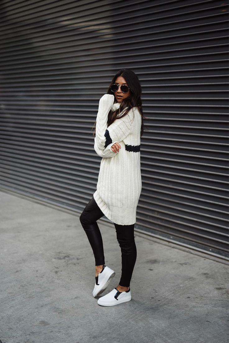 blogmixes: Sweater: TOMMY X GIGI  Leggings: TOMMY X GIGI  Sl...