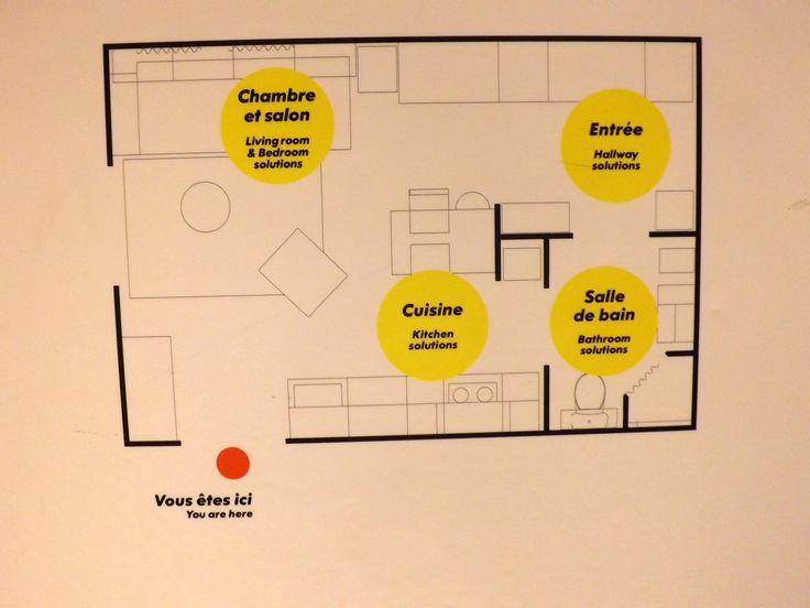 270 sq ft floor plan by IKEA