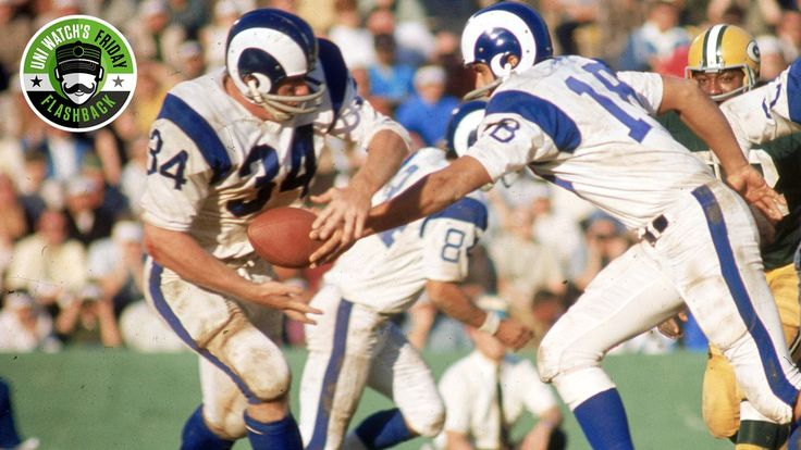 Friday Flashback: With the Rams moving back to Los Angeles, Paul Lukas dives into the history of the team's uniform, including the origin story of the classic helmet horns.
