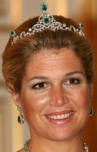 Emerald Parure Tiara (Netherlands)(Princess Maxima): Crown Jewels, Queen, Royal Tiaras, The Netherlands, Dutch Royal, Royal Jewels
