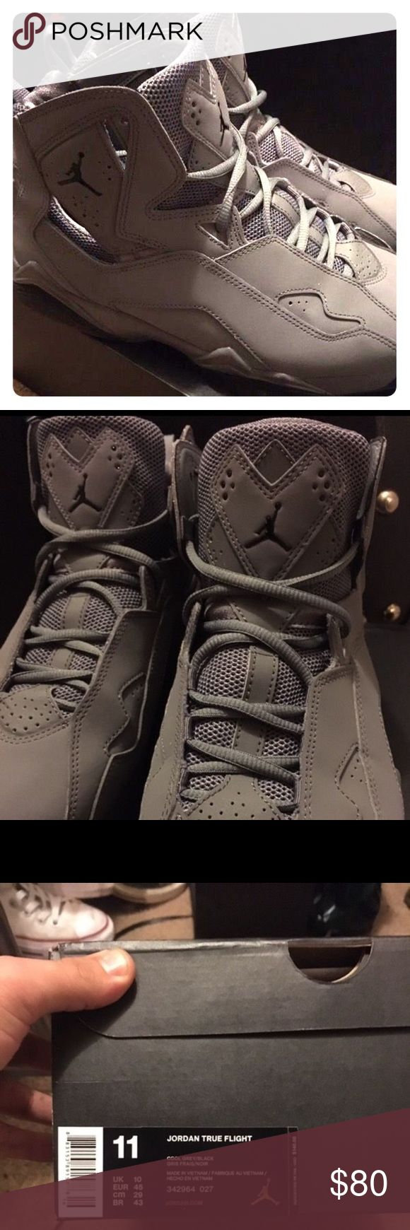Jordan True Flight 10/10 condition, only worn 3 times. Just too big for me Jordan Shoes Athletic Shoes