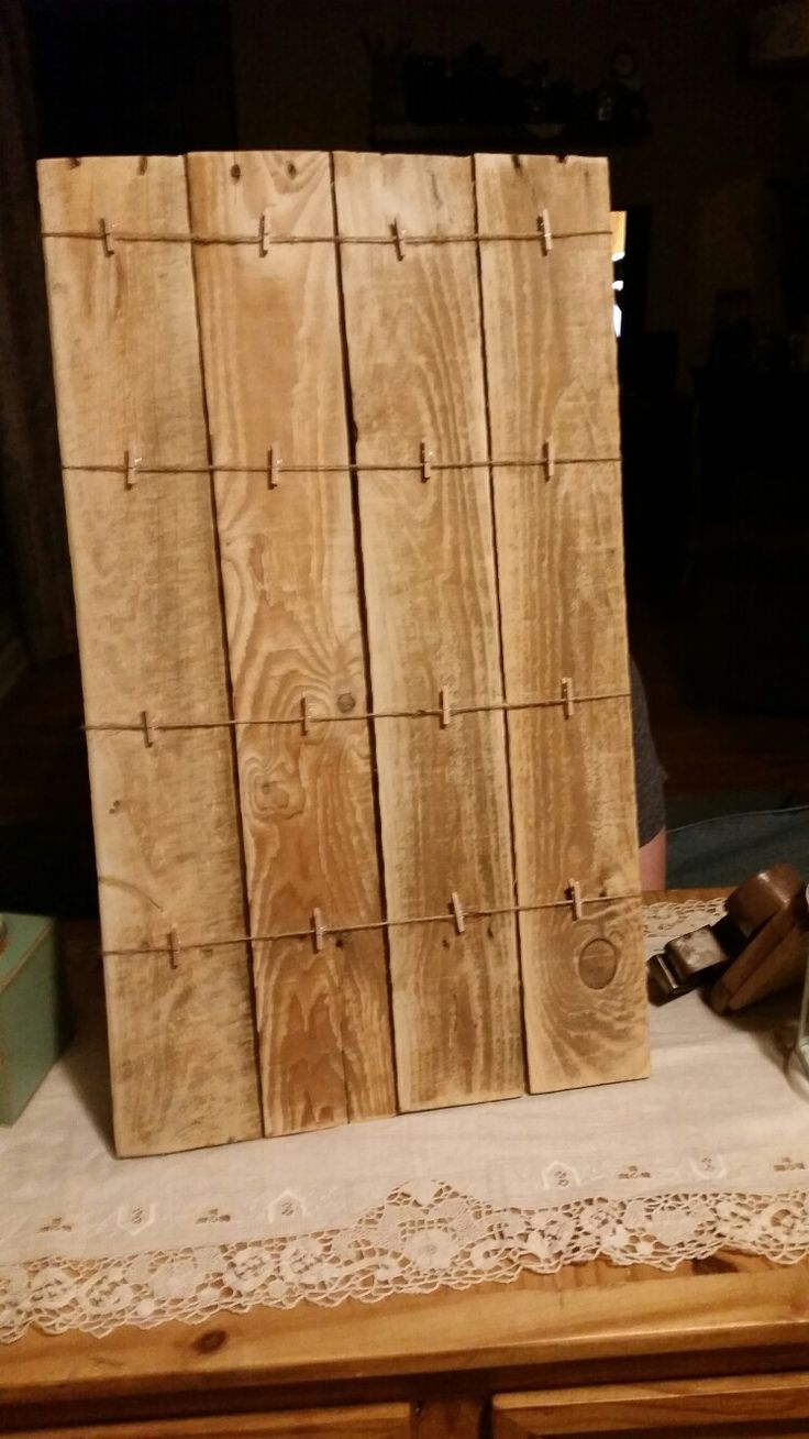 Rustic Pallet seating chart