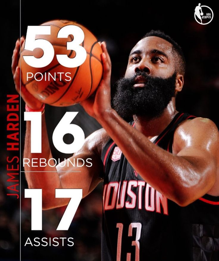 Highest point scored in a triple double. History! James Harden against the Knicks was amazing.