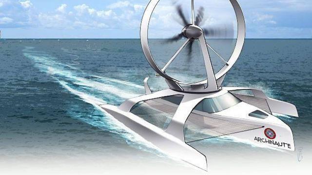 Nautisme. Un bateau à propulsion éolienne? le projet révolutionnaire d'un ingénieur de Carnac