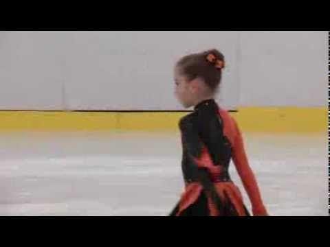Luiza Ilie - Campionatul National de Patinaj Artistic 2014 (locul II, ca...