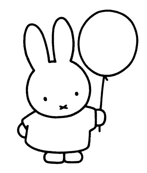 miffy and friends coloring pages - photo#29