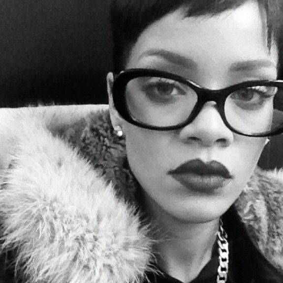 rihannas glasses prada
