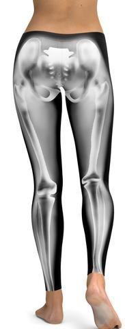 Realistic skeleton Leggings - GearBunch Leggings / Yoga Pants