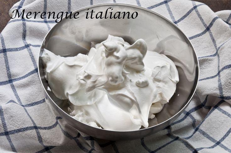 Merengue Italiano Thermomix
