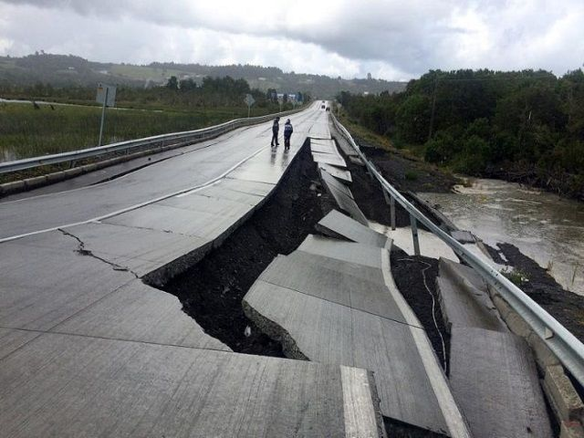 An earthquake with a preliminary magnitude of 7.7 struck 225 km (140 miles) southwest of Puerto Montt in southern Chile on Sunday, United States Geological Survey said.  A tsunami warning was issued for areas within 1,000 km (621 miles) of the epicenter of the quake, the U.S.   #Chile #earthquake #Magnitude #quake #tsunami #Tsunami warning #warning