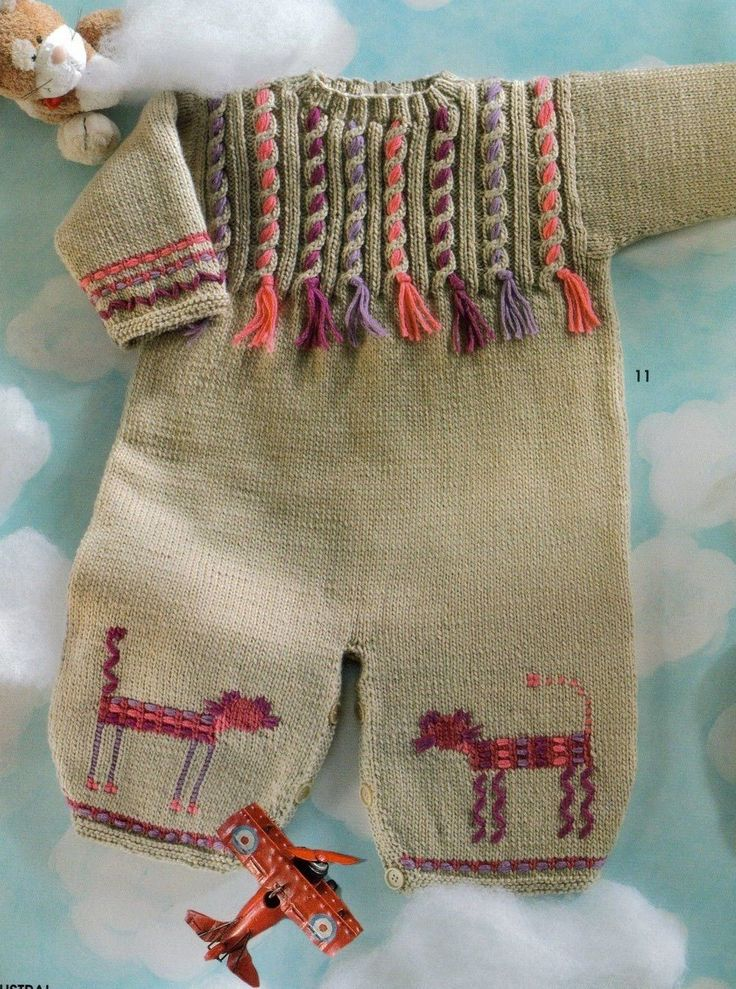 Free baby knitting model-Knitting Gallery
