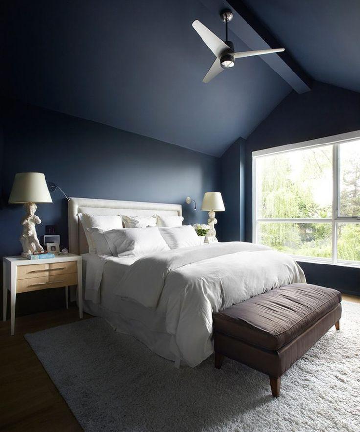Die besten 25+ blau weiß Schlafzimmer Ideen auf Pinterest Blaue - wandfarben f amp uuml r schlafzimmer