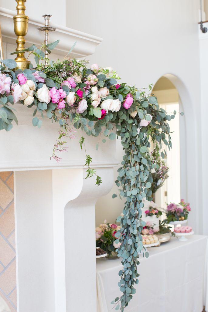 Best ideas about fireplace garland on pinterest