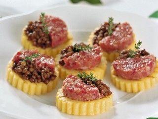 tartine di polenta Sale&Pepe