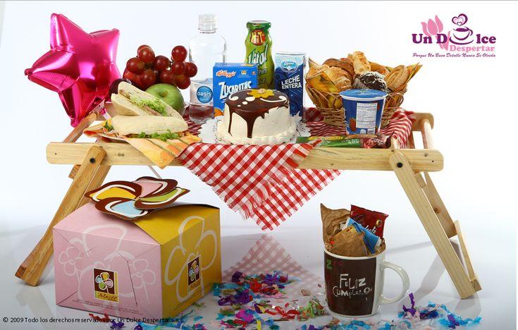 Desayuno de cumplea os desayunos sorpresa pinterest - Desayuno sorpresa madrid ...