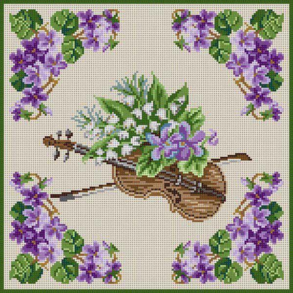 Violin & Violets