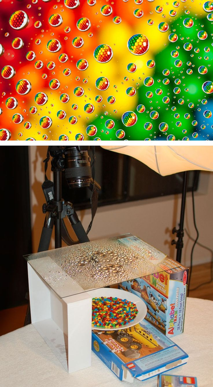 M&m's In Water Drops - Pictures That Reveal The Truth Behind Photography