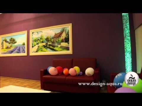 Фото и видео Пузырьковых колонн, водно пузырьковых колонн, воздушно пузырьковых колонн