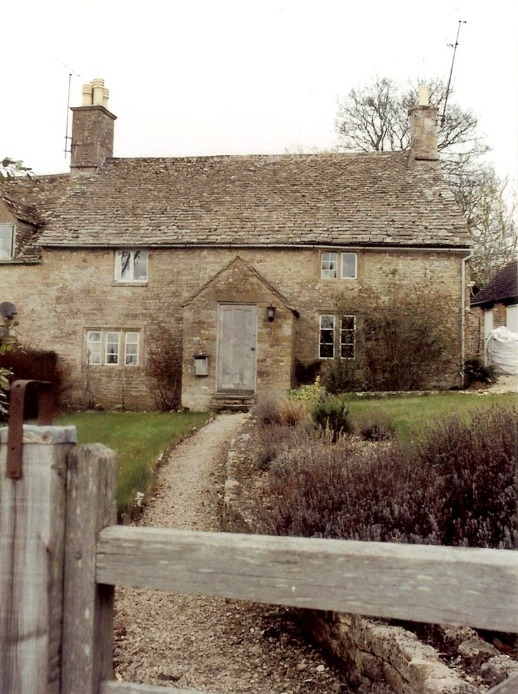 Cotswold Cottage ~ English Country Home ~ Original Colour Photograph by Suzanne MacCrone, via Etsy