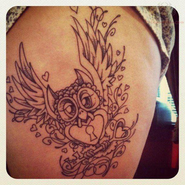 key to heart tattoo - Google Search