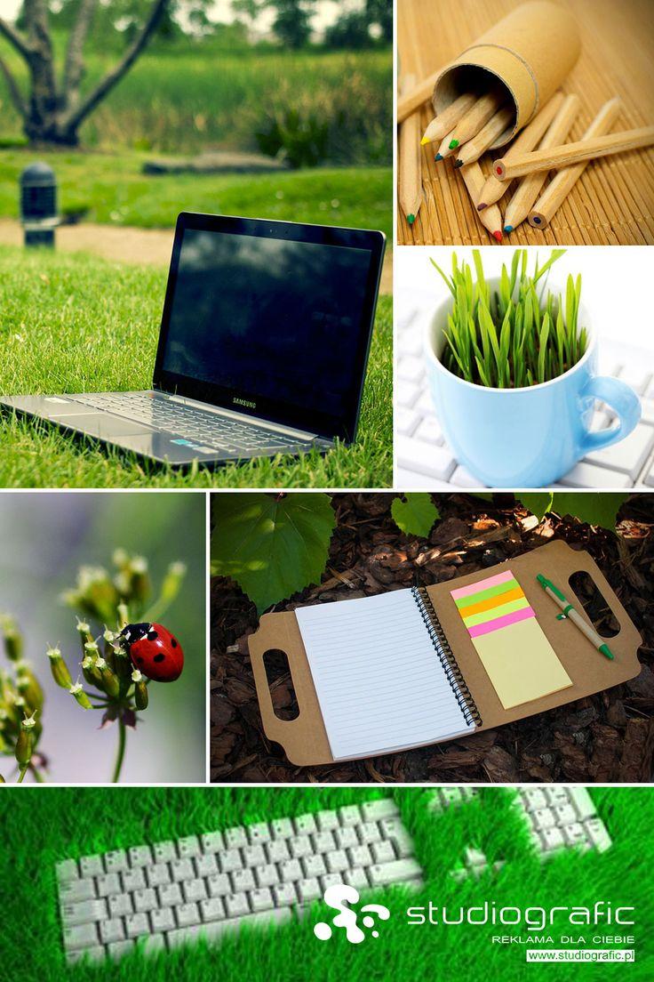 Ekologiczne gadżety reklamowe, dostępne na studiografic.pl