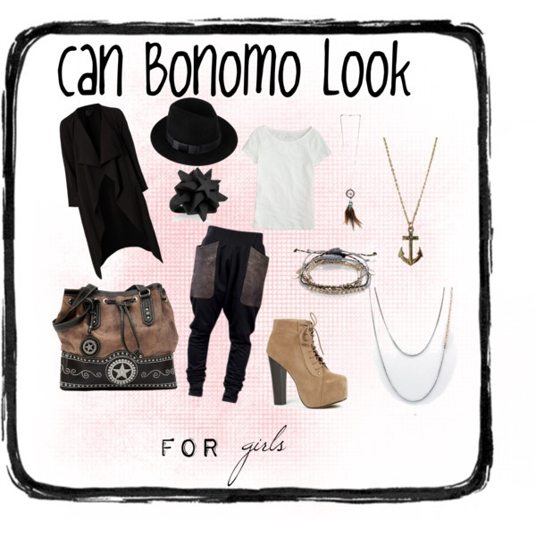 """Can Bonomo Look for GIRLS!"" by thisisika on Polyvore"