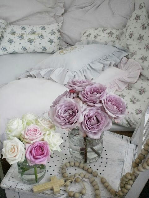 shabby chic pinterest bedroom colors the purple and shabby chic