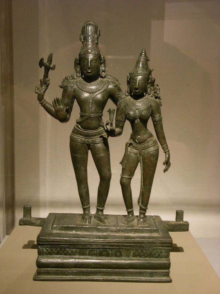 https://flic.kr/p/6yX4wA | Images of God | @ Kunsthal, Rotterdam  Siva and Parvati, India(?) Tamil Nadu(?)