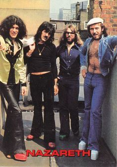 On of my favorite bands, Nazareth!