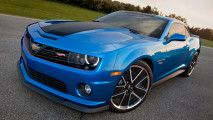 2014 cars New and Old Camaros