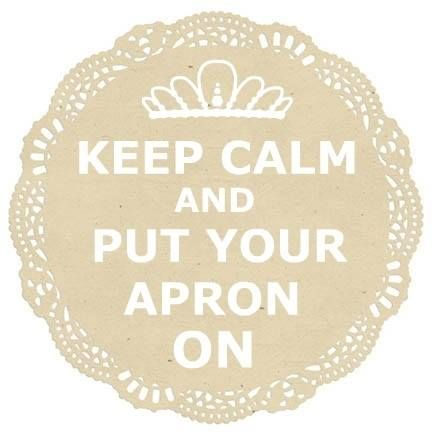 When all else fails...Put your apron on!   #baking #quotes  www.thefrostingqueens.com