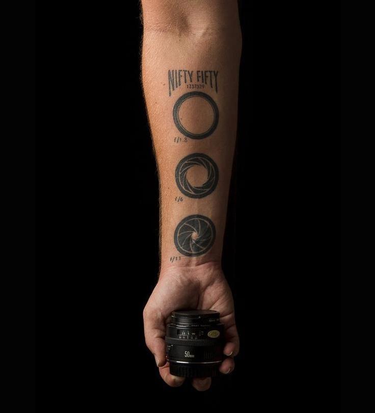 Tattoo Fotografia Abertura Diafragma