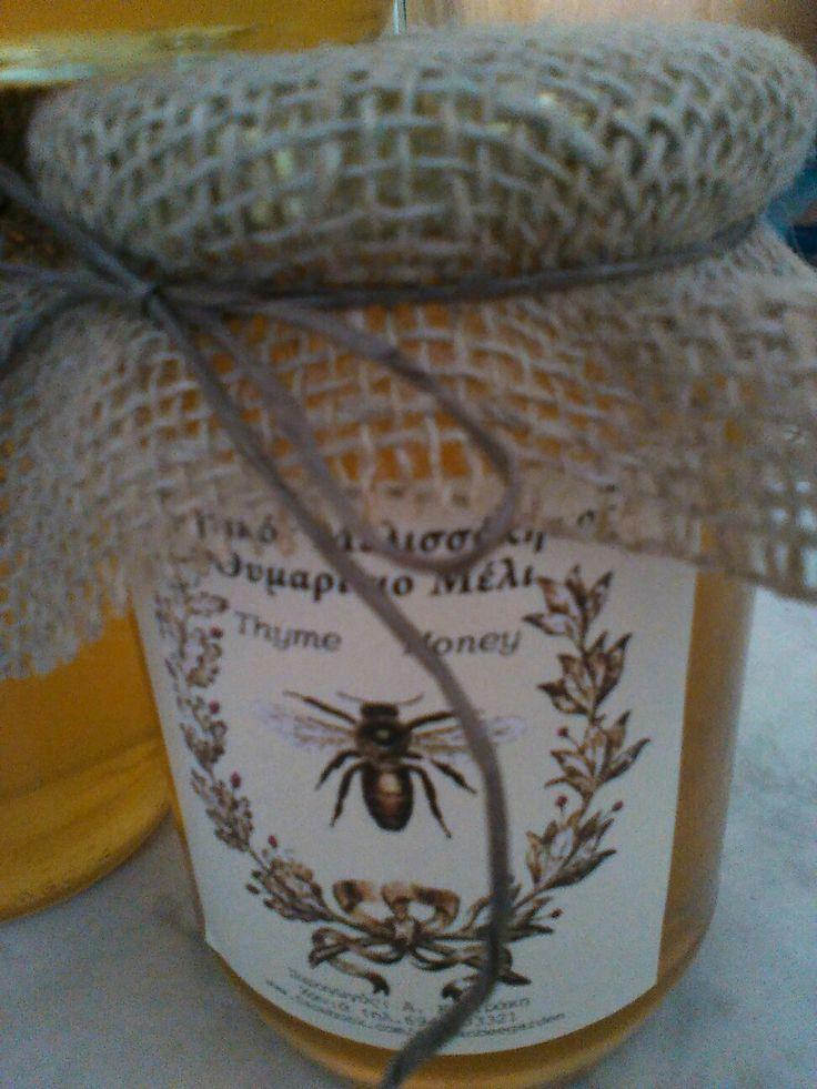 Thyme honey by Cretan Bee Garden