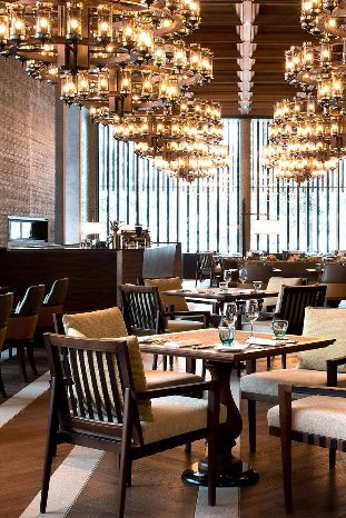 The restaurant serves an impressive mix of exquisite pan-Asian and Swiss cuisine. The Chedi Andermatt (Switzerland) - Jetsetter