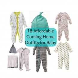 Mama, I'm Coming Home! Affordable cute baby clothes for coming home from the hospital!