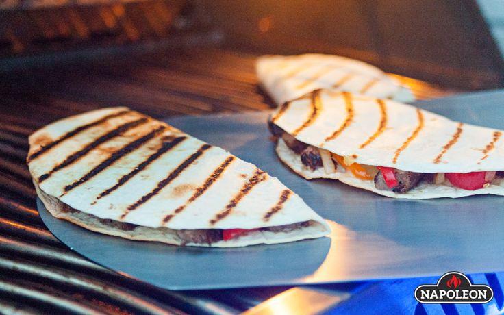 Steak Quesadillas with Fresh Guacamole