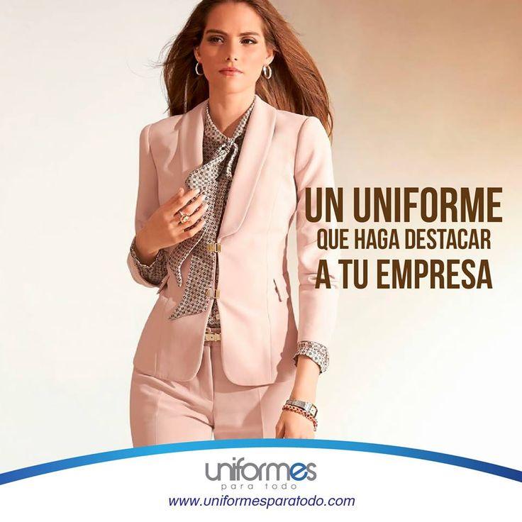 ¡Nos encanta que quieras darle profesionalismo a tu empresa! Un buen uniforme es de gran ayuda.   ¡Contáctanos! www.uniformesparatodo.com