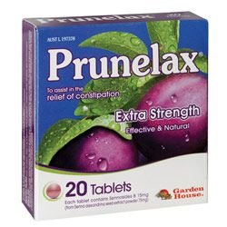 Prunelax 20 tablets